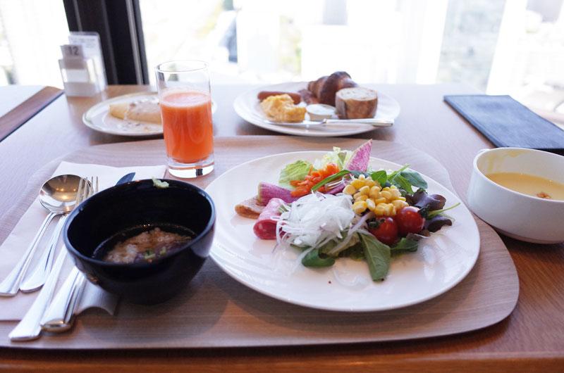 神戸ポートピアホテル宿泊記 朝食ビュッフェ